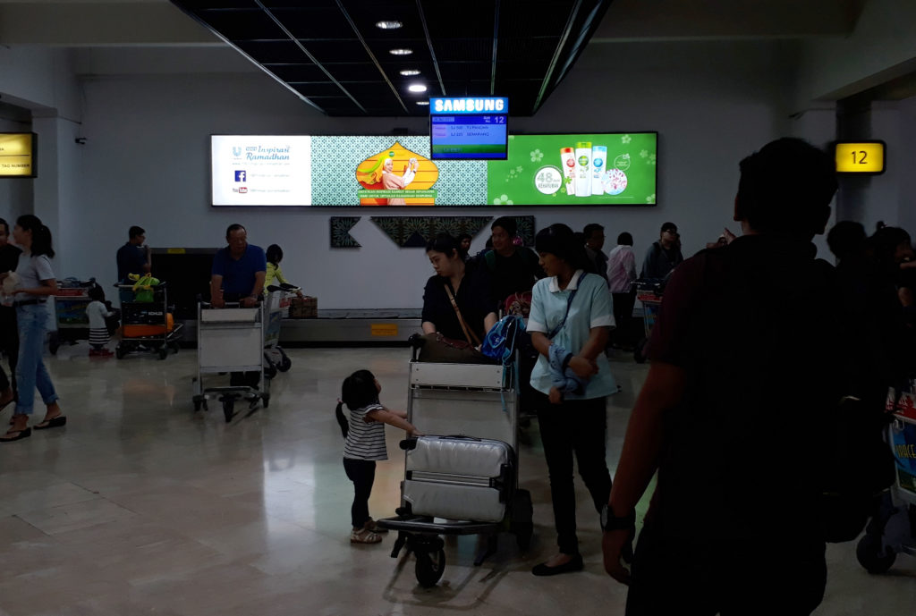 Unilever @ Soekarno Hatta Jakarta International Airport