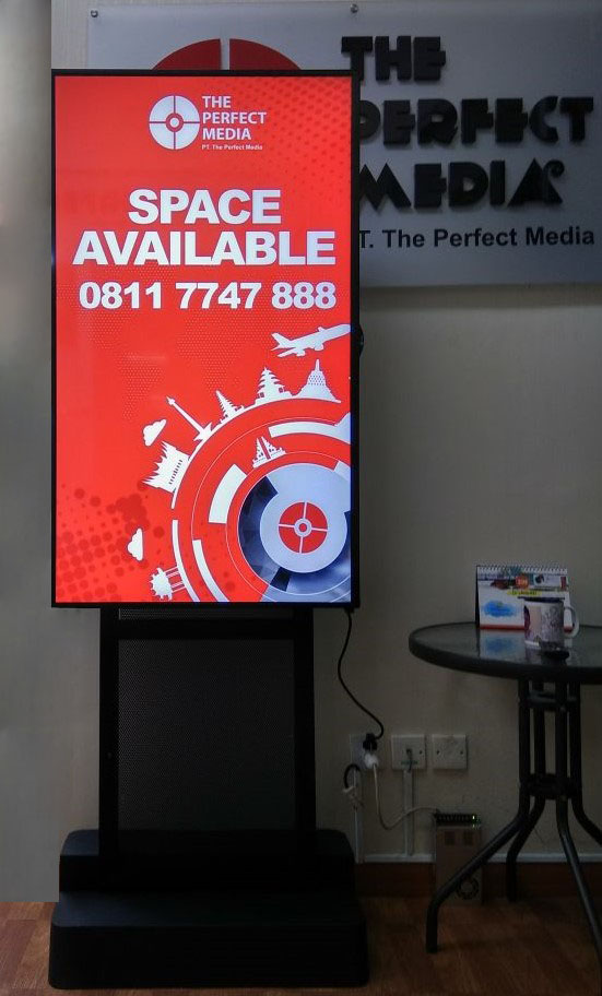 The TPM Outdoor I-Screen Creative Collection in Indonesia Office